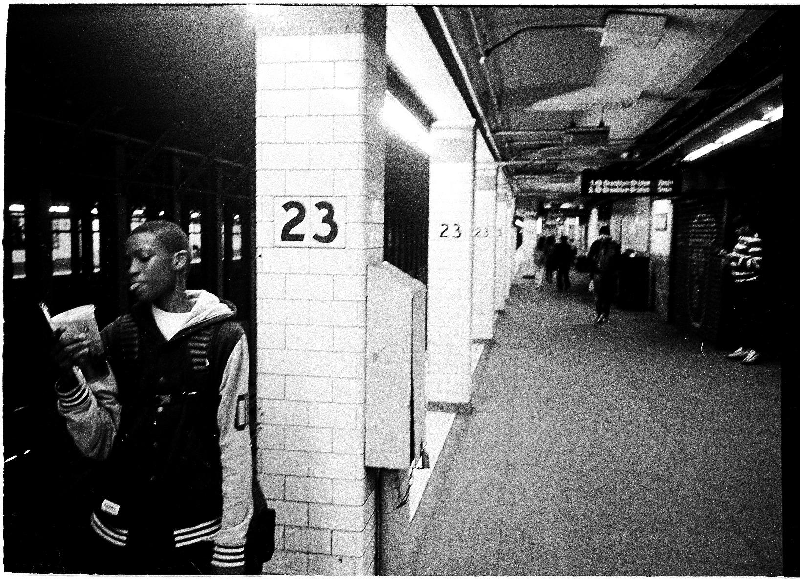 Seen on the 6 train platform