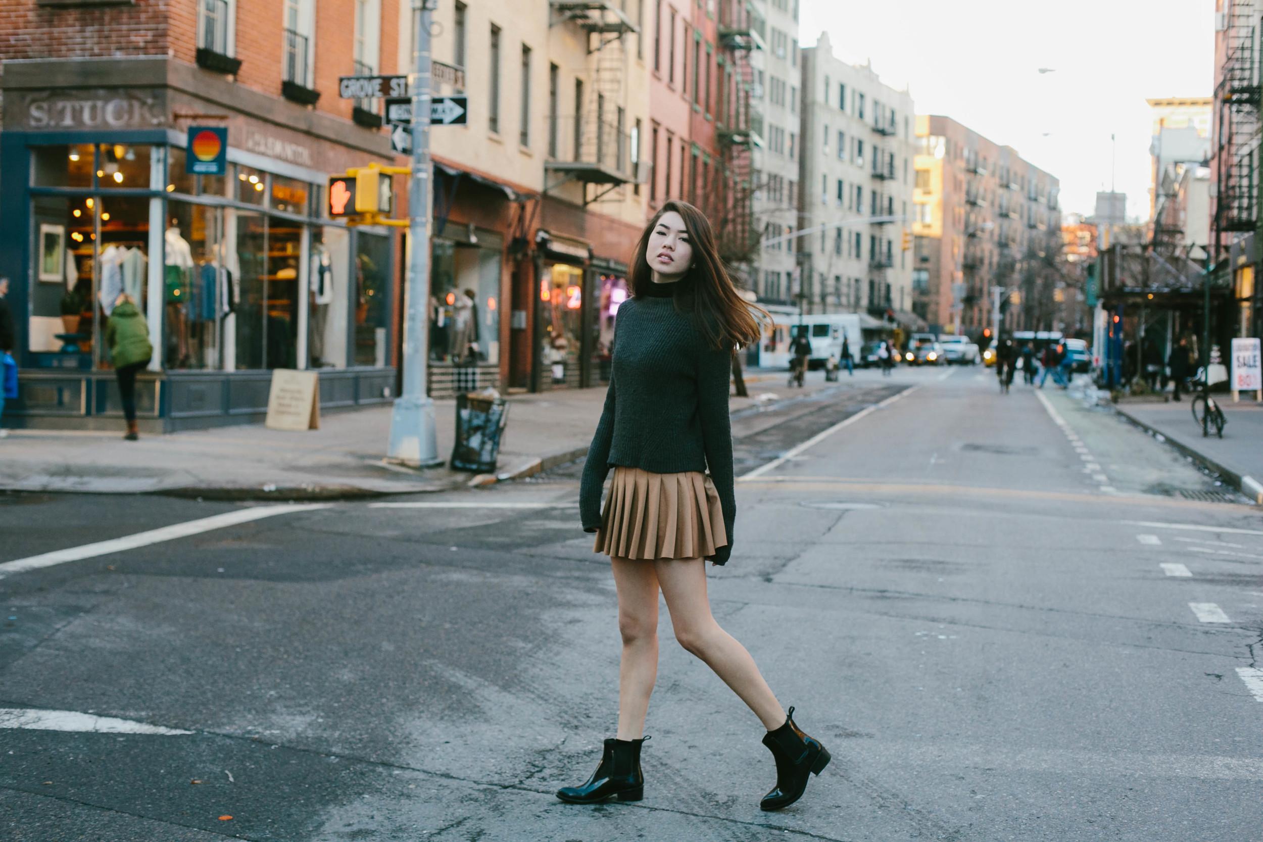 Anna in the West Village