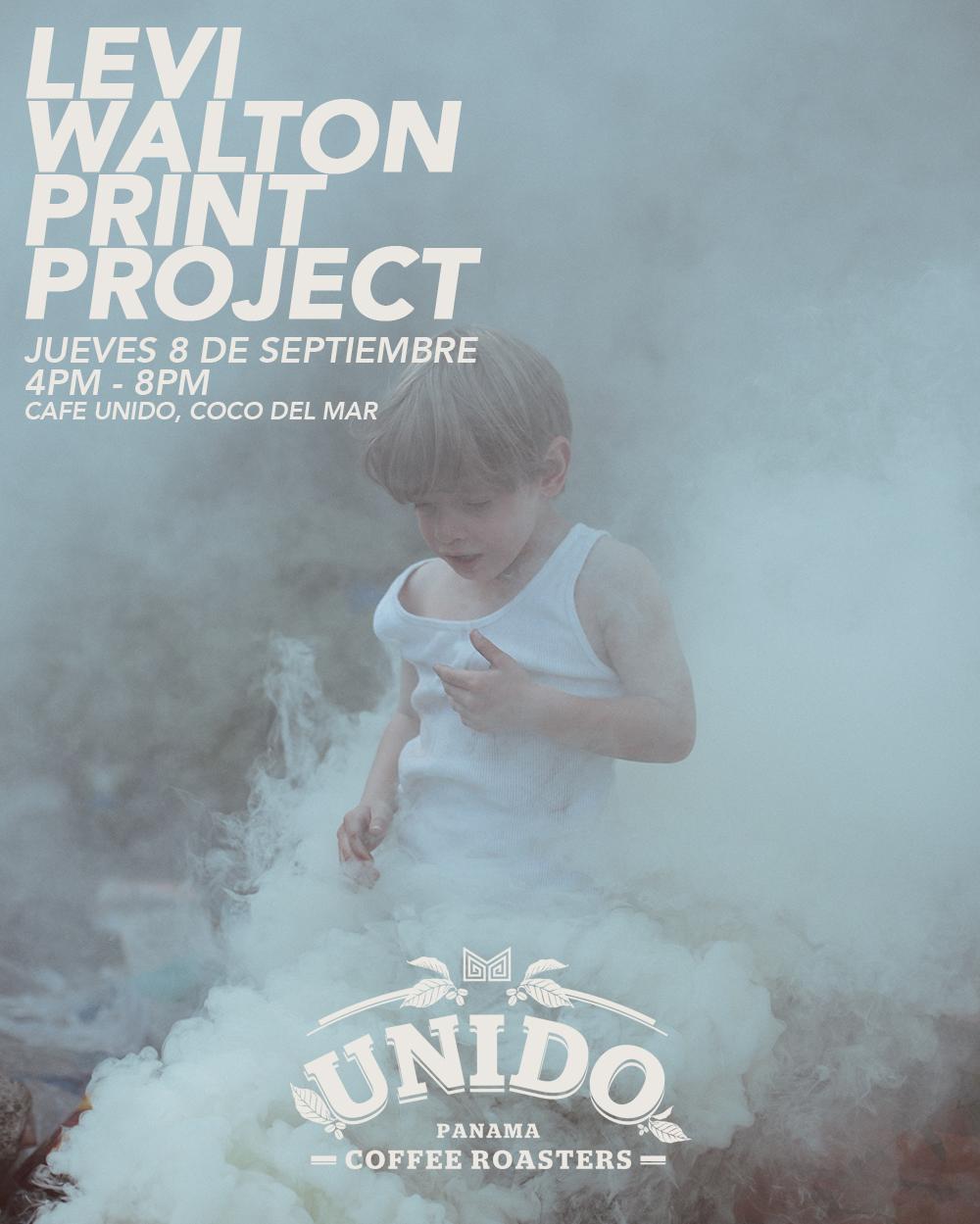 Levi Walton Print Project: Print signing event held in Panama City, Panama