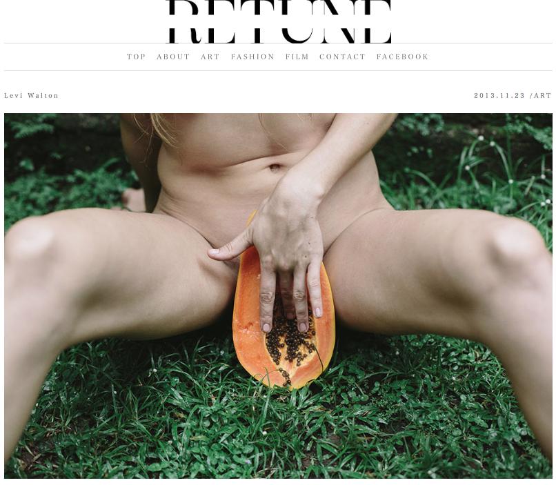 Feature on  RETUNE Magazine