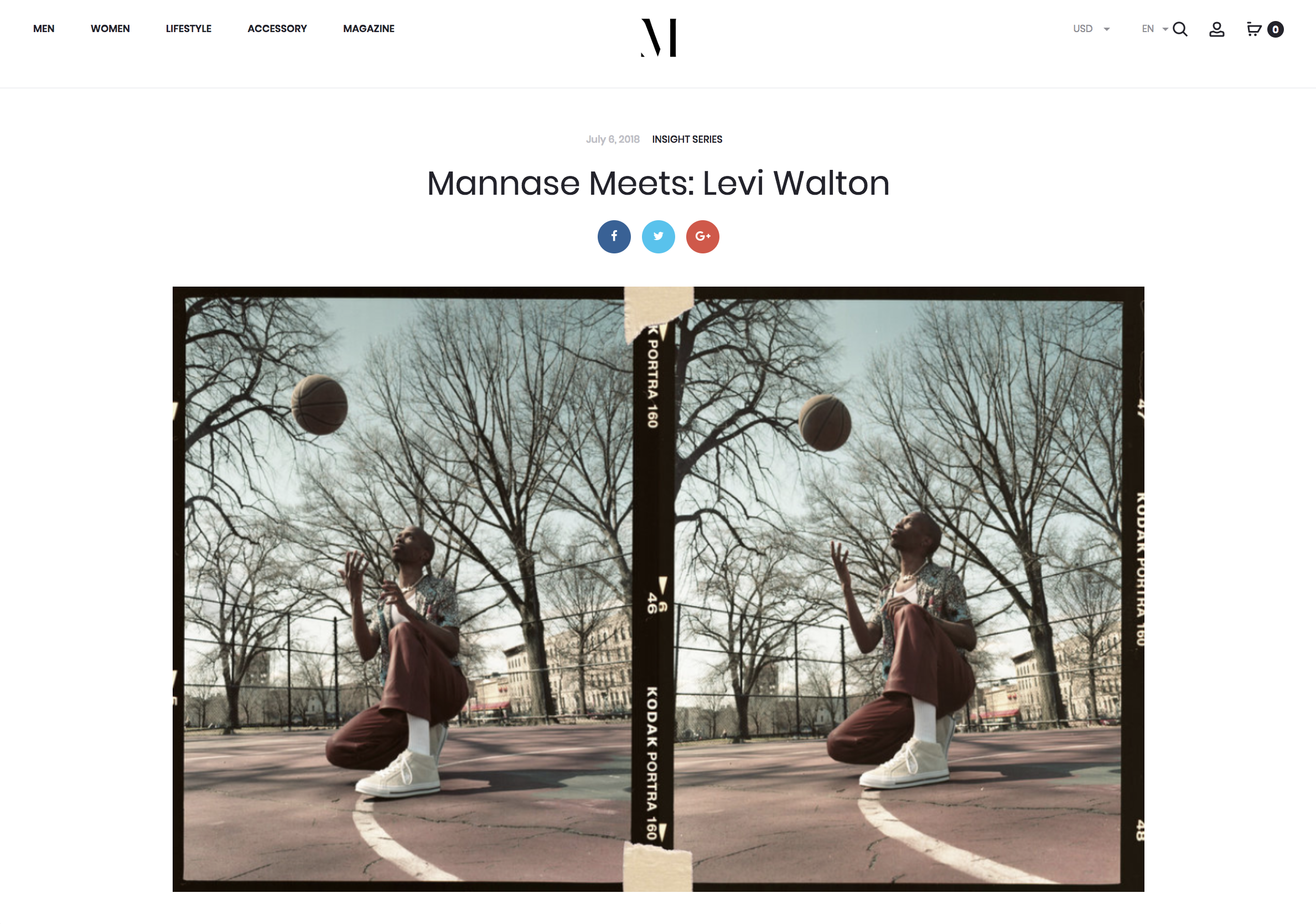 Mannase Meets: Levi Walton