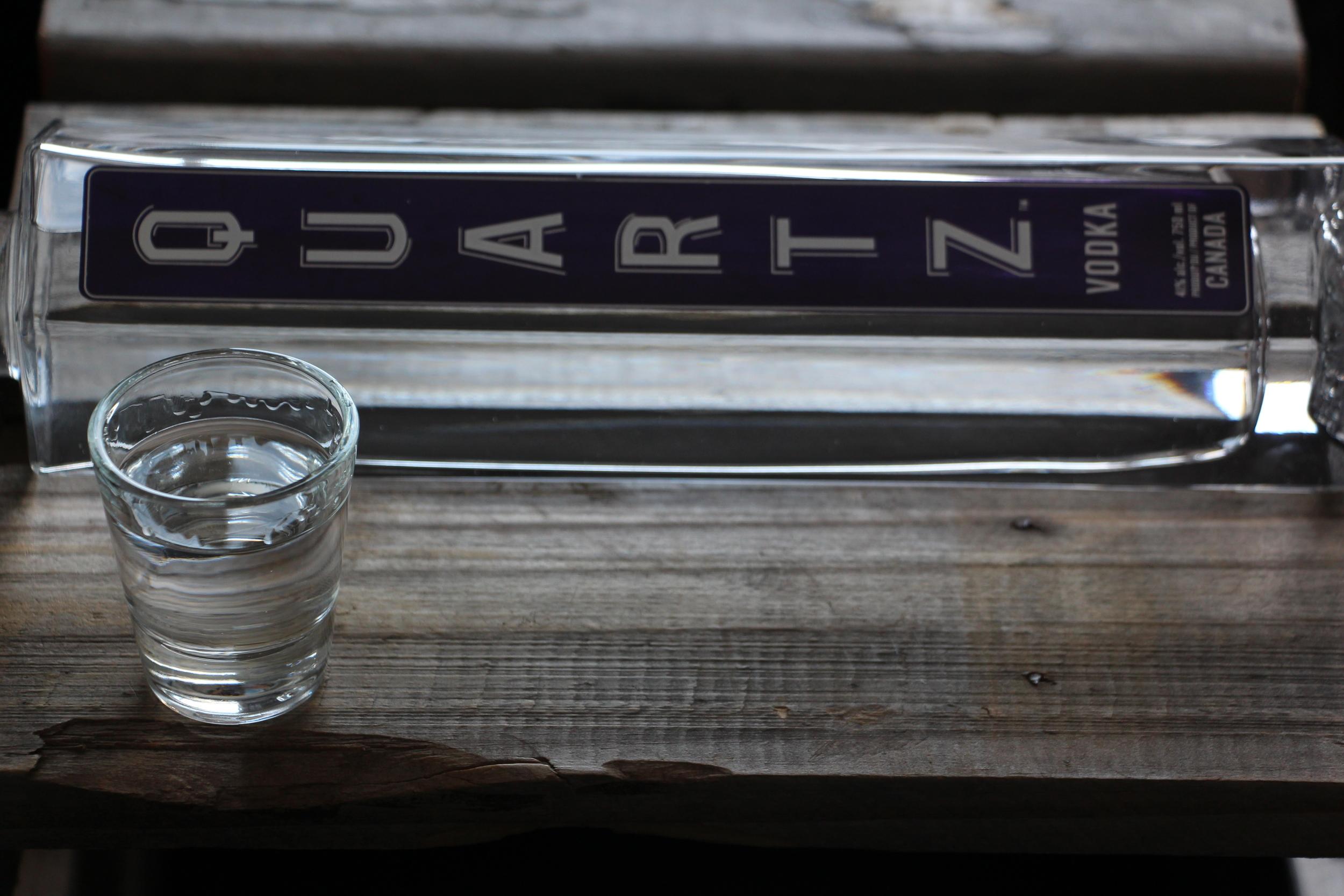 Quartz vodka québécoise
