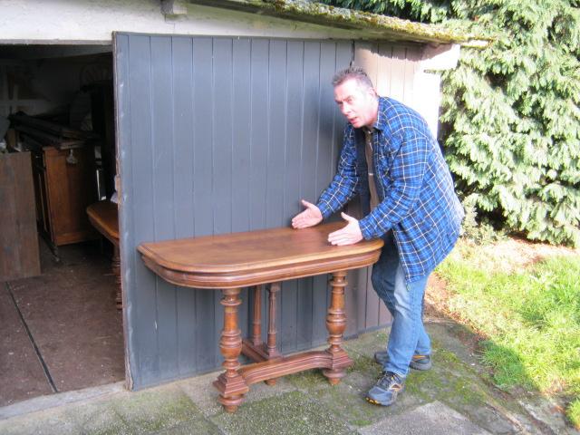 Marcellino spots a Henry II wall table
