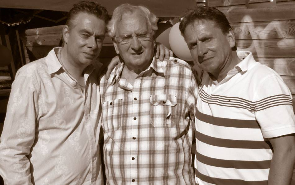 Marcellino, Harry and Salvatore Van Hoof - The hunt for antiques started with one generation and continues to the next. -