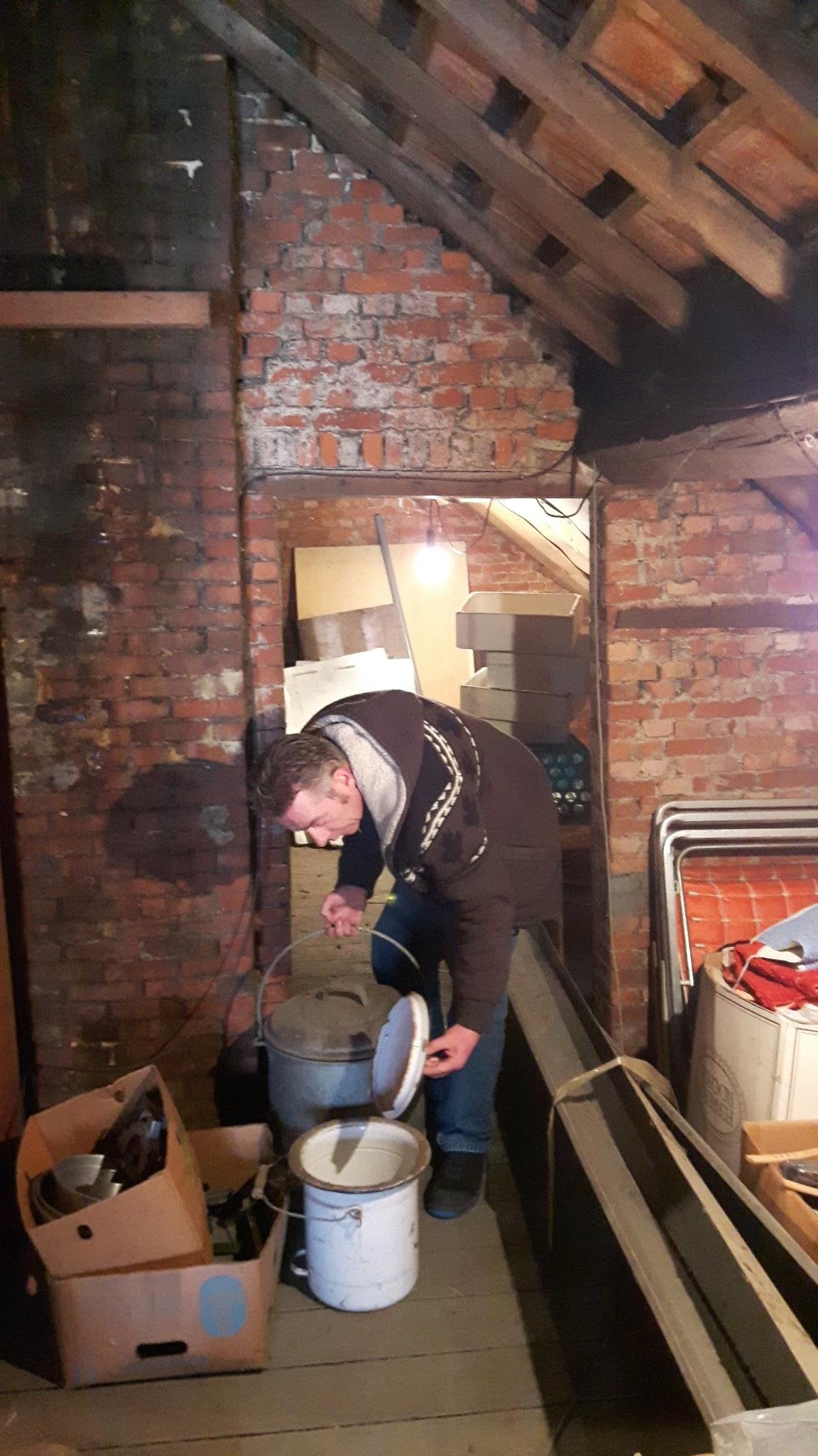 Our picker checks every attic