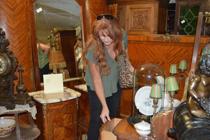 Laura Curtis, owner of Europa Imports Inc in Helotes Texas, has a keen eye when it comes to finding fine European antiques.