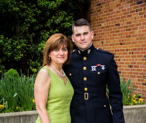 My mother and I just before the graduation ceremony. She is my world. Without her I am nothing.