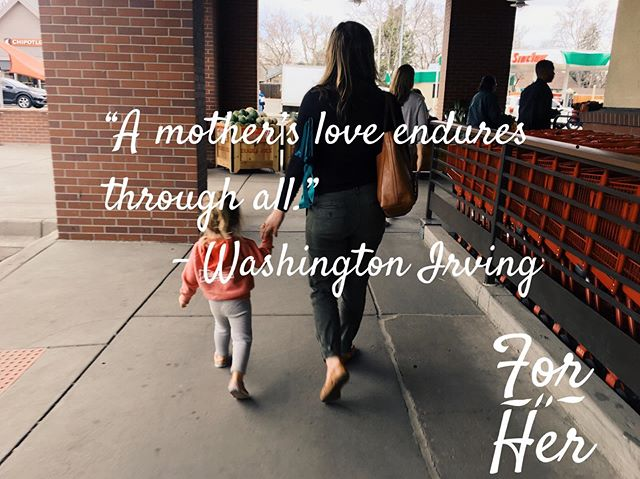 """A mother's love endures through all."" – Washington Irving ... To all the  superhero 🦸‍♀️mom's out there who would move heaven and earth for their children and who inspire us to be someone better, we do it for you. Happy #MothersDay . . . #BeBetter #IDoItForHer #ForHer #MomsDay #Superhero #charity #MomsLove #WashingtonIrving #MomsAreDaBest #ForYou"