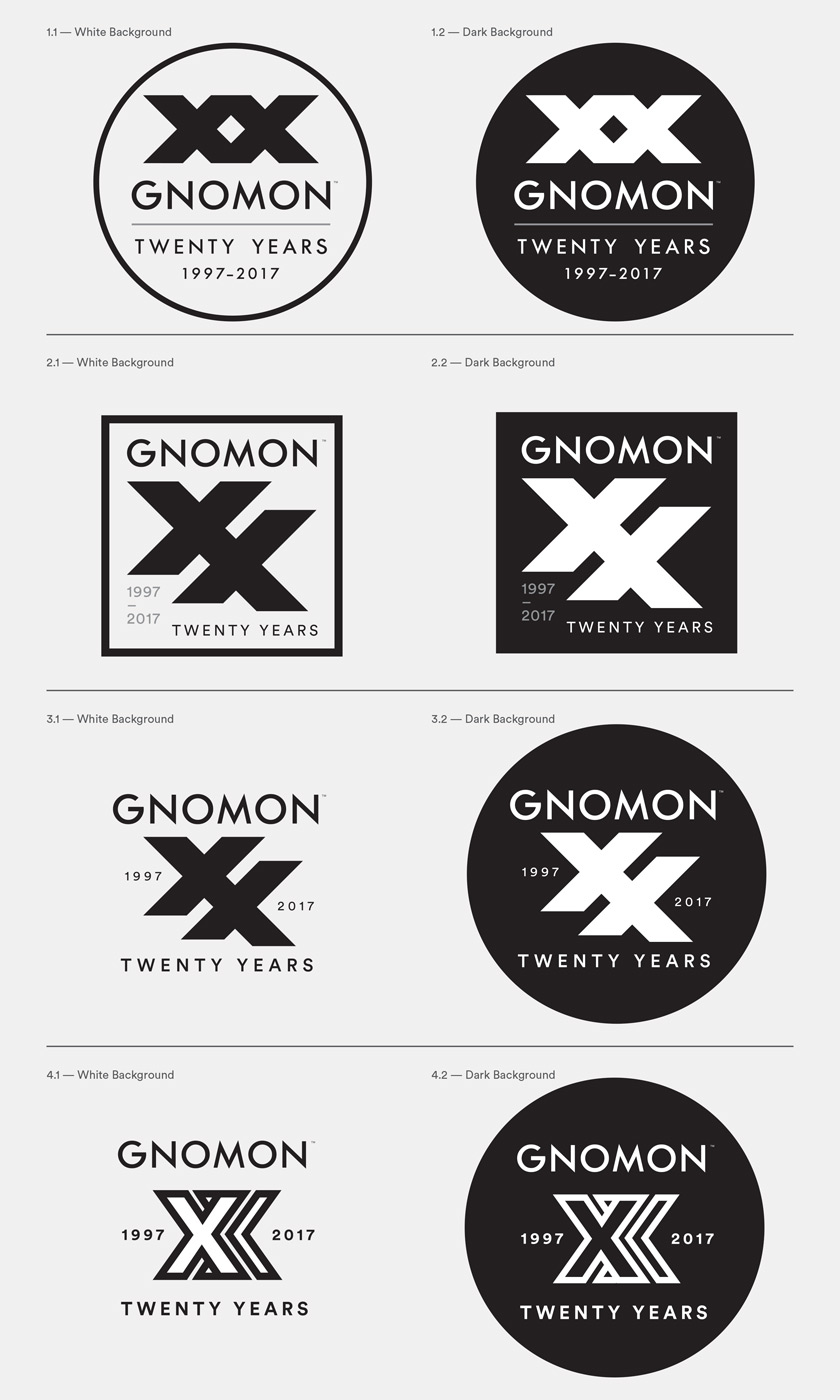 From this last batch of 4 different logos, #1 was the one that became the final.