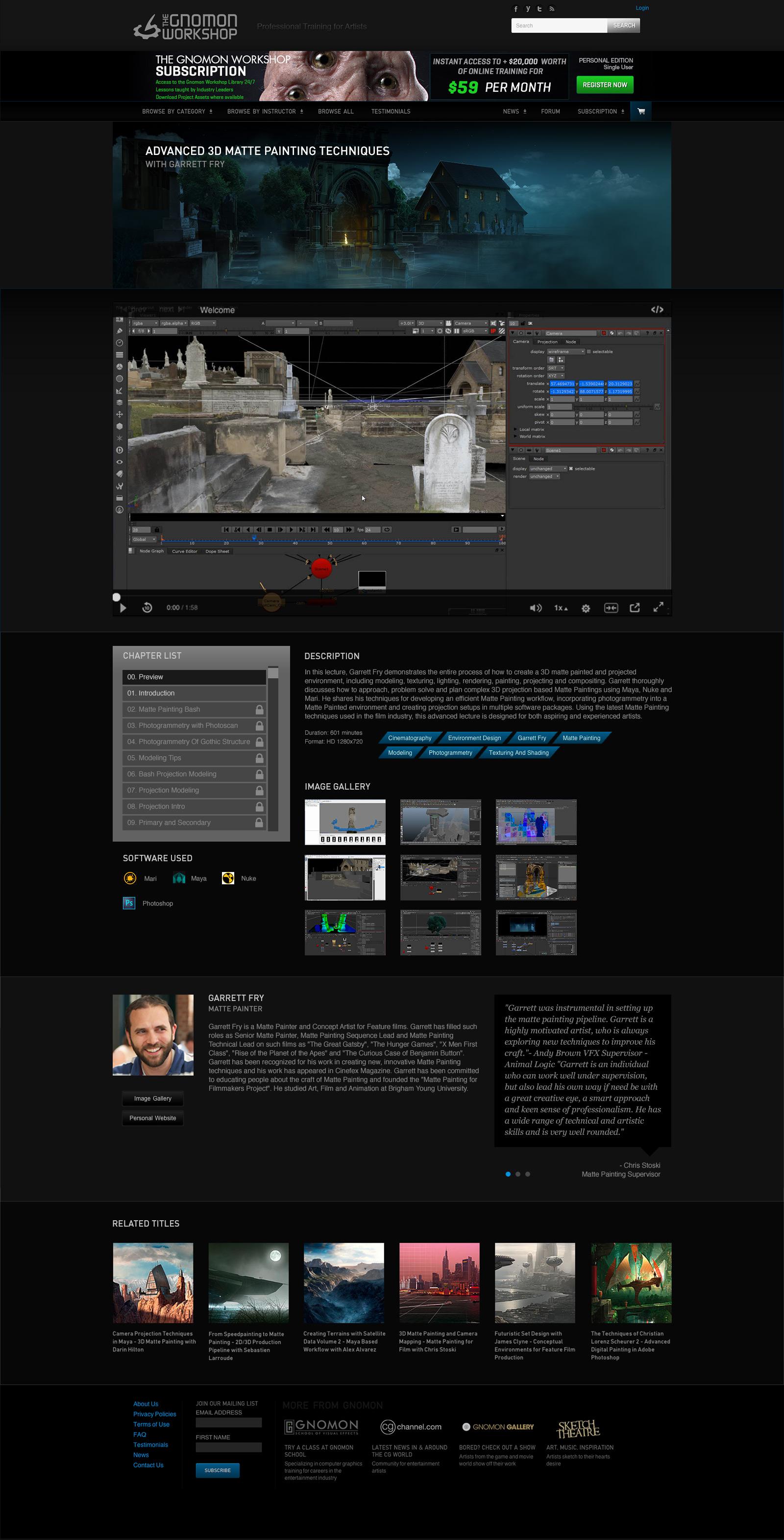UI and Motion Design — Danielle Davis