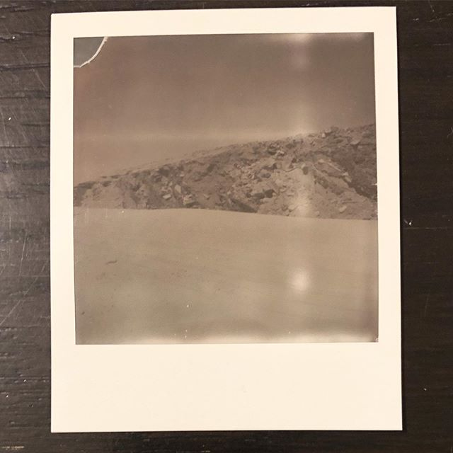 I took these with my SX-70 while driving around the Yucca Valley and Palm Springs area a couple weeks ago. I think something happened to my film, but I don't mind it. #polaroidsx70 #polaroid