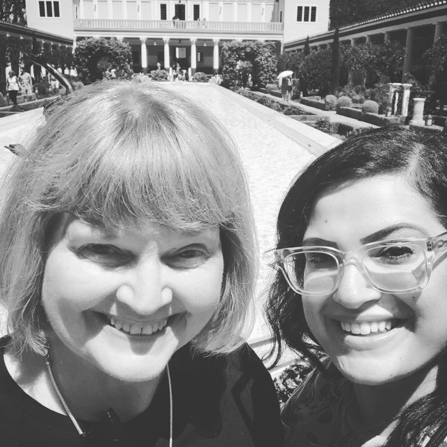 Happy Birthday to my amazing mother @davsuze ! 🎂 You are so inspiring and I am lucky to be your daughter. We had so much fun on your visit in August, you need to come back to LA!
