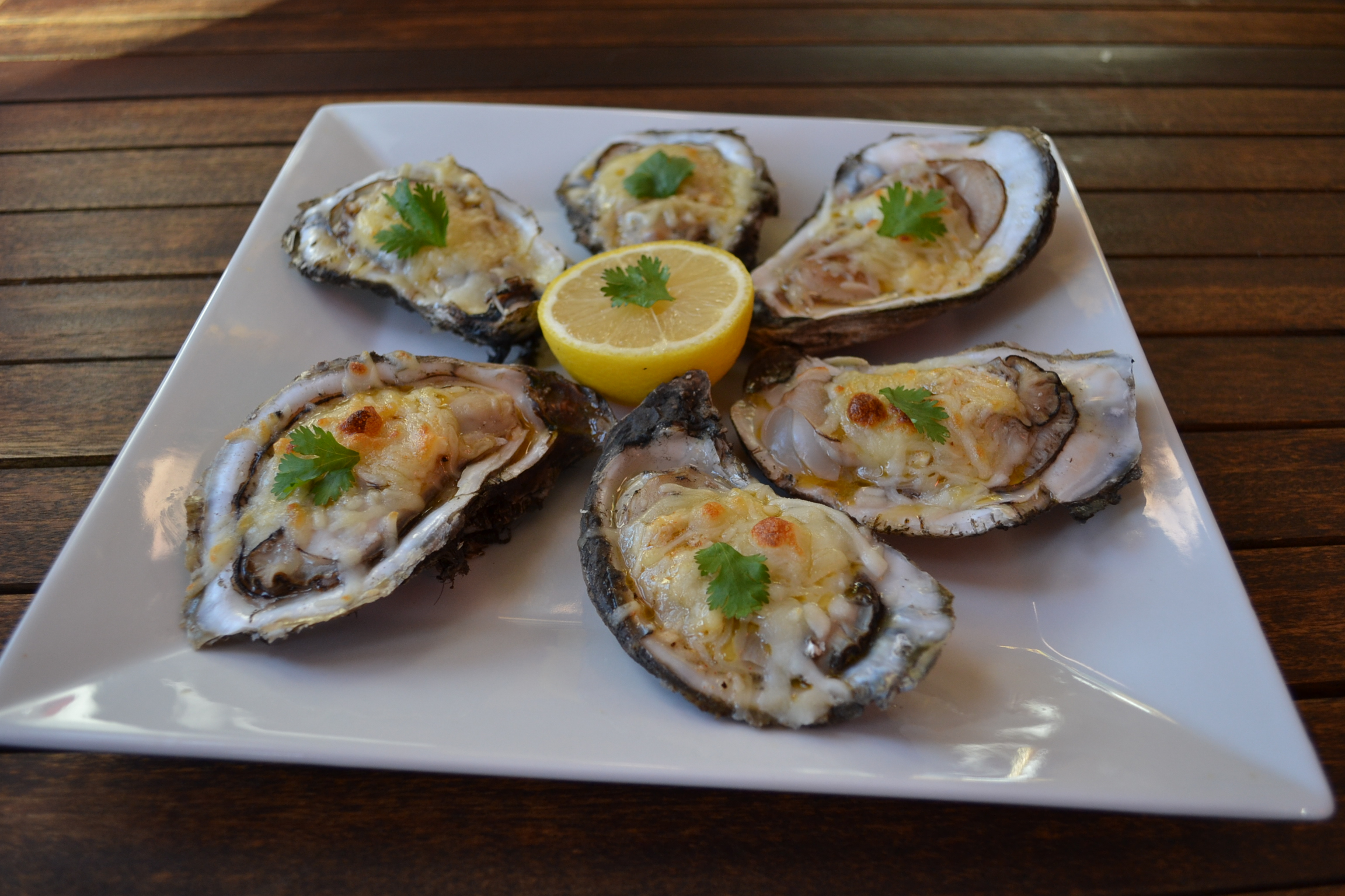 Baked Oysters