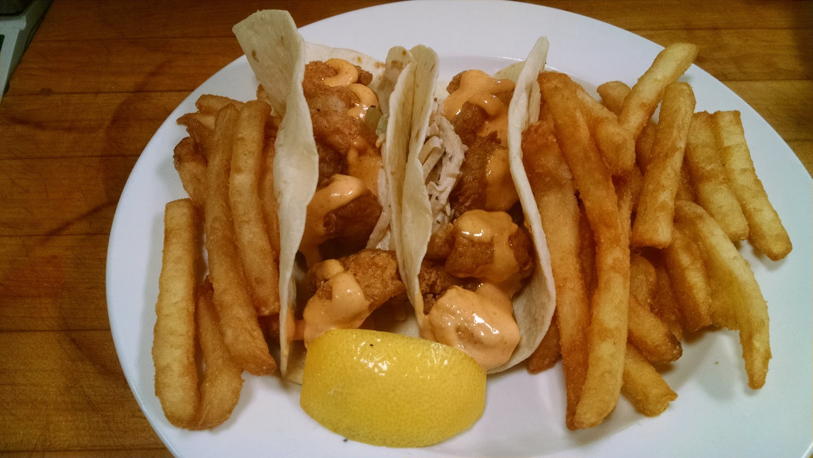 Fired Shrimp Tacos