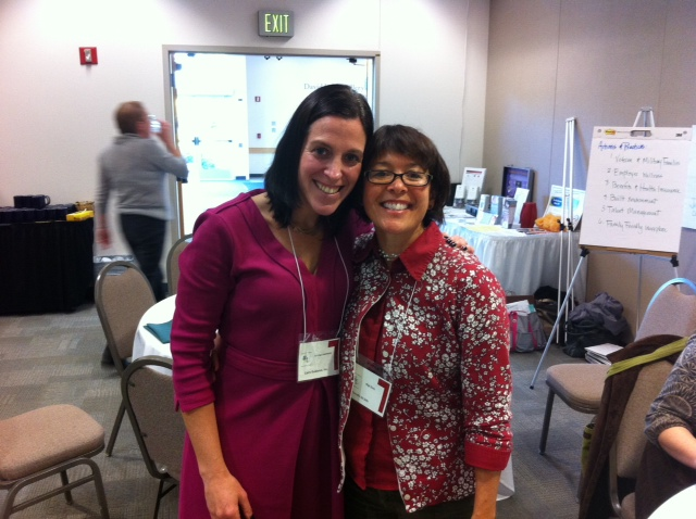 My dear friend Gigi, a ROCKSTAR parent, school health champion and Oregon health education cadre member in Corvallis Oregon.