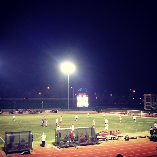 University of Louisville Men's Soccer game.