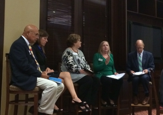 Afternoon panel at the KY Leadership Summit on Childhood Obesity