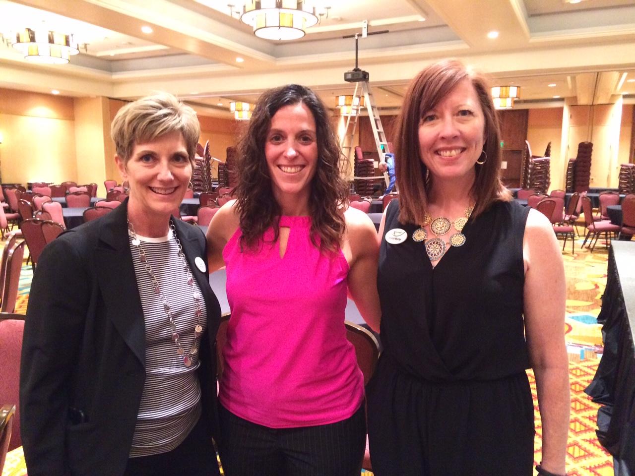 Joan Brucha, VP at RMC Health, myself and Sharon Murray, President & CEO of RMC Health