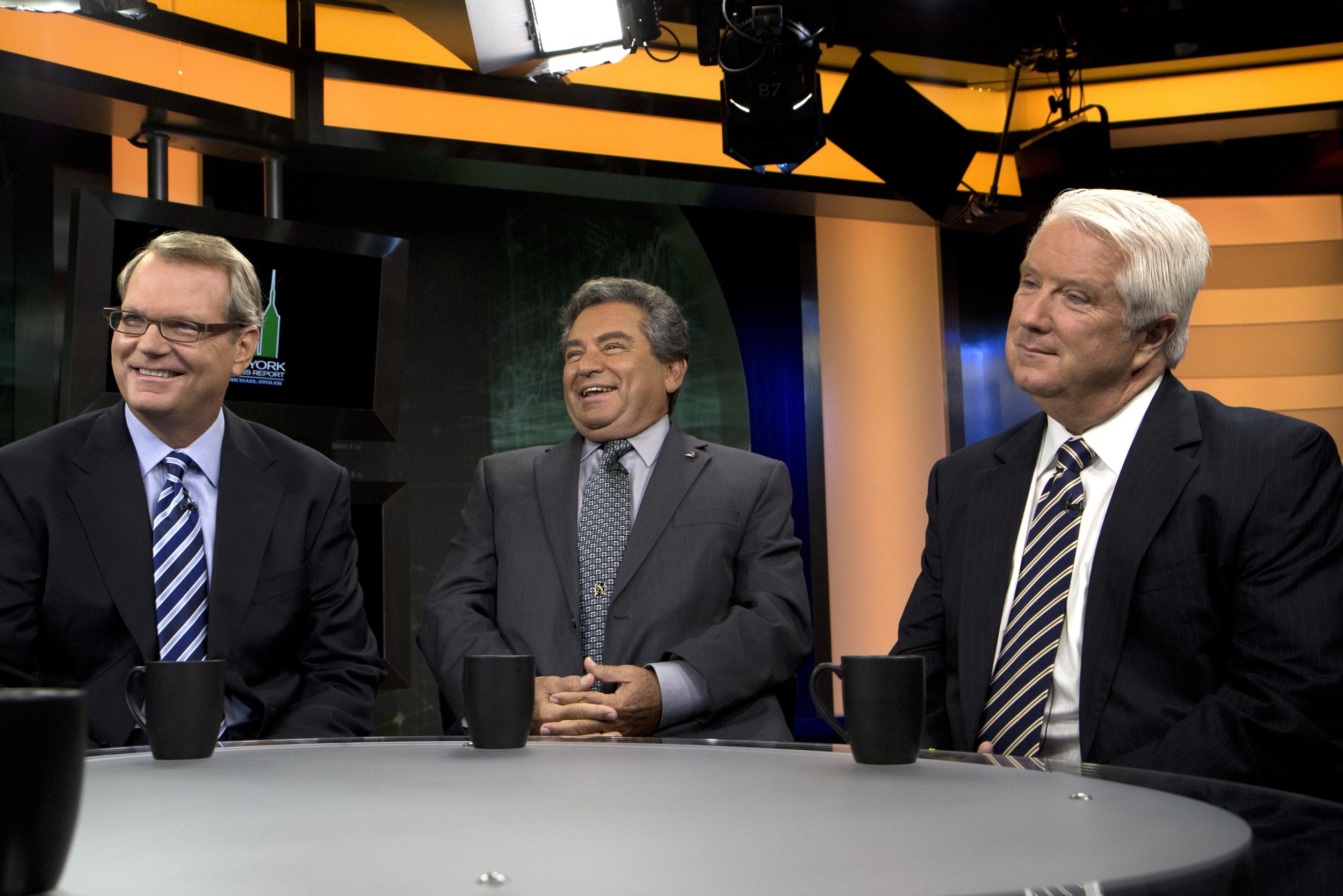 Mike Slocum, Joseph Ficalora, Al Brooks