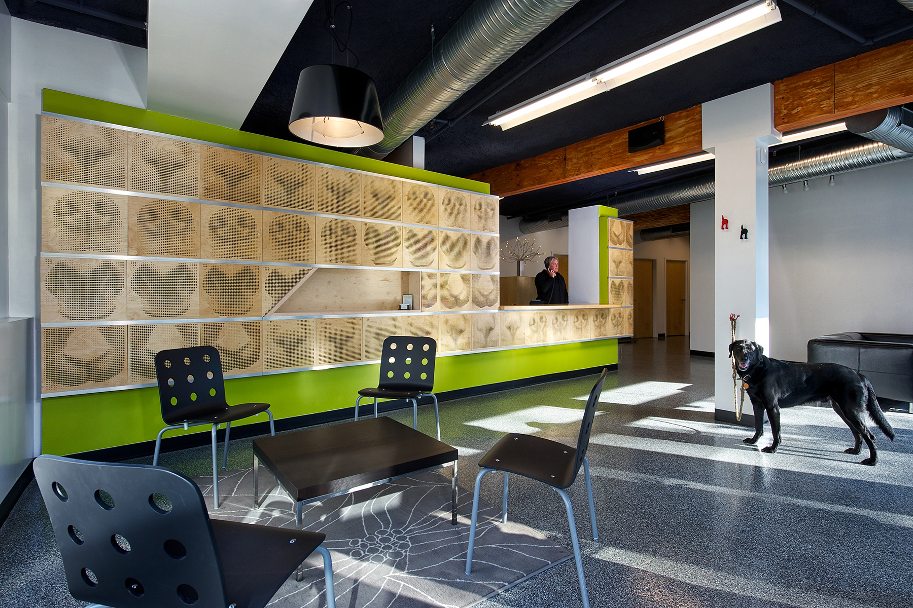 Merit Award  Elemental Veterinary Center and Pet Spa, designed by Blostein/Overly Architects