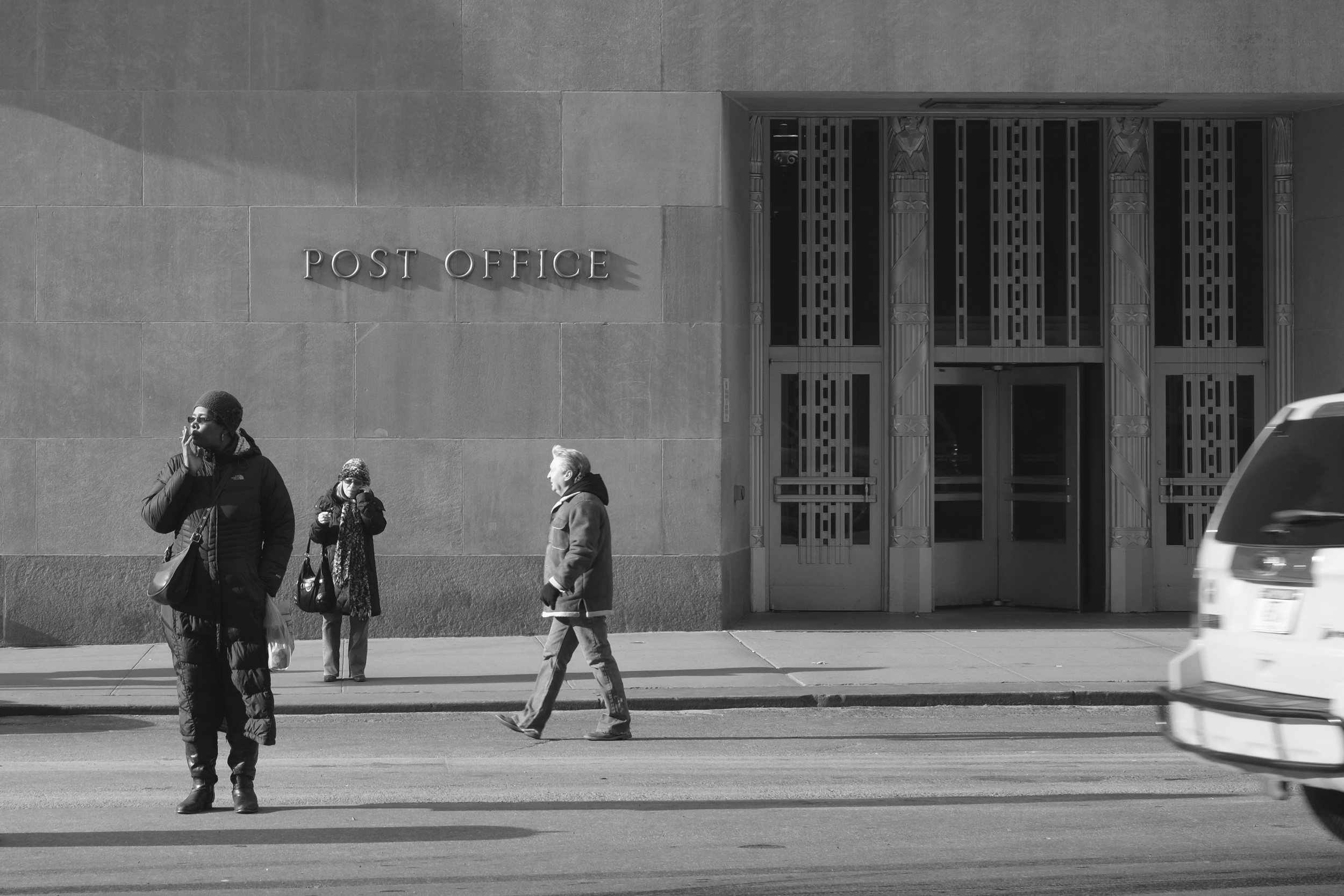 Financial District Post Office. ISO 400, f8, 1/220 at 35mm.
