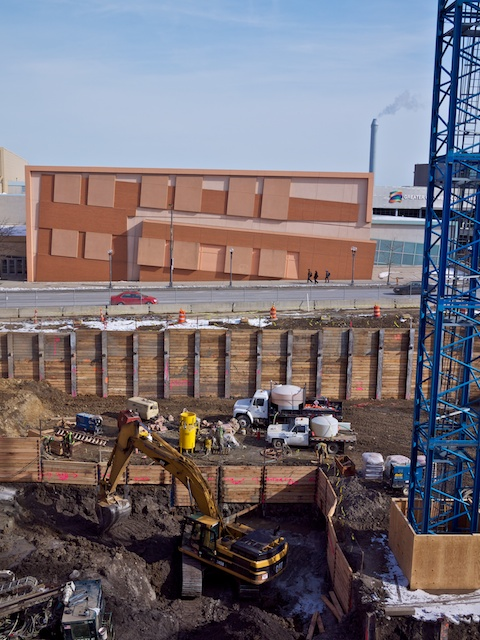 Quick Look: Part 2/Construction of HOK's Columbus Convention Center Hotel