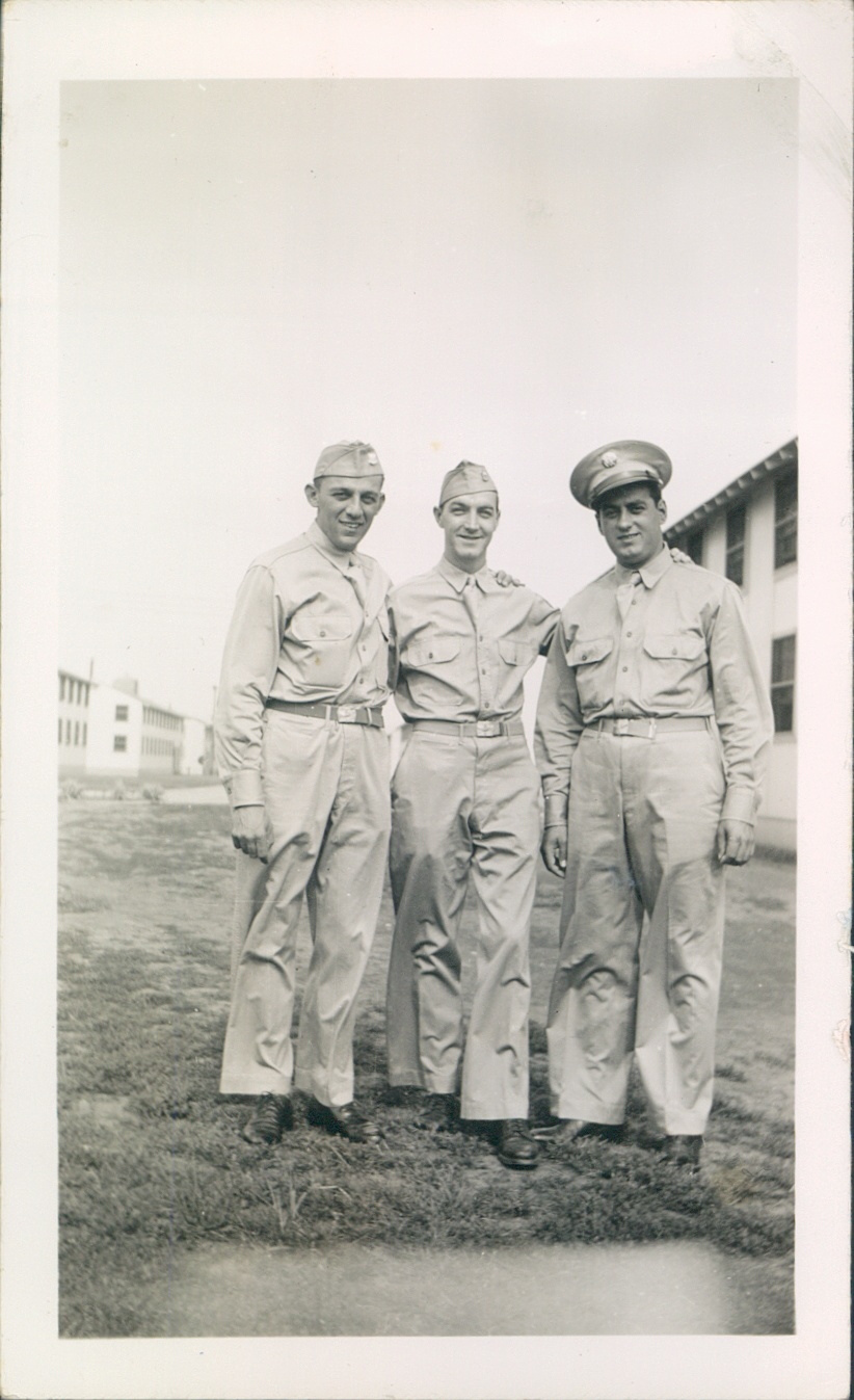 Oct 1942 Chanute Field, IL  Ernest Carbone [right].