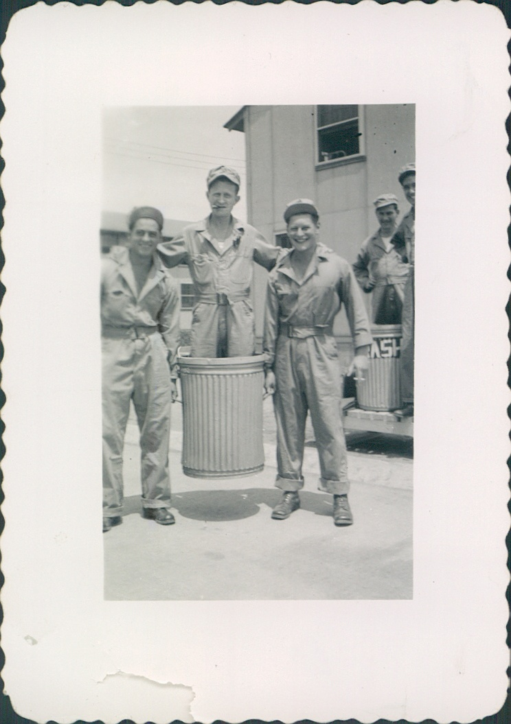 Oct 1942 Chanute Field, IL  Ernest Carbone [left].