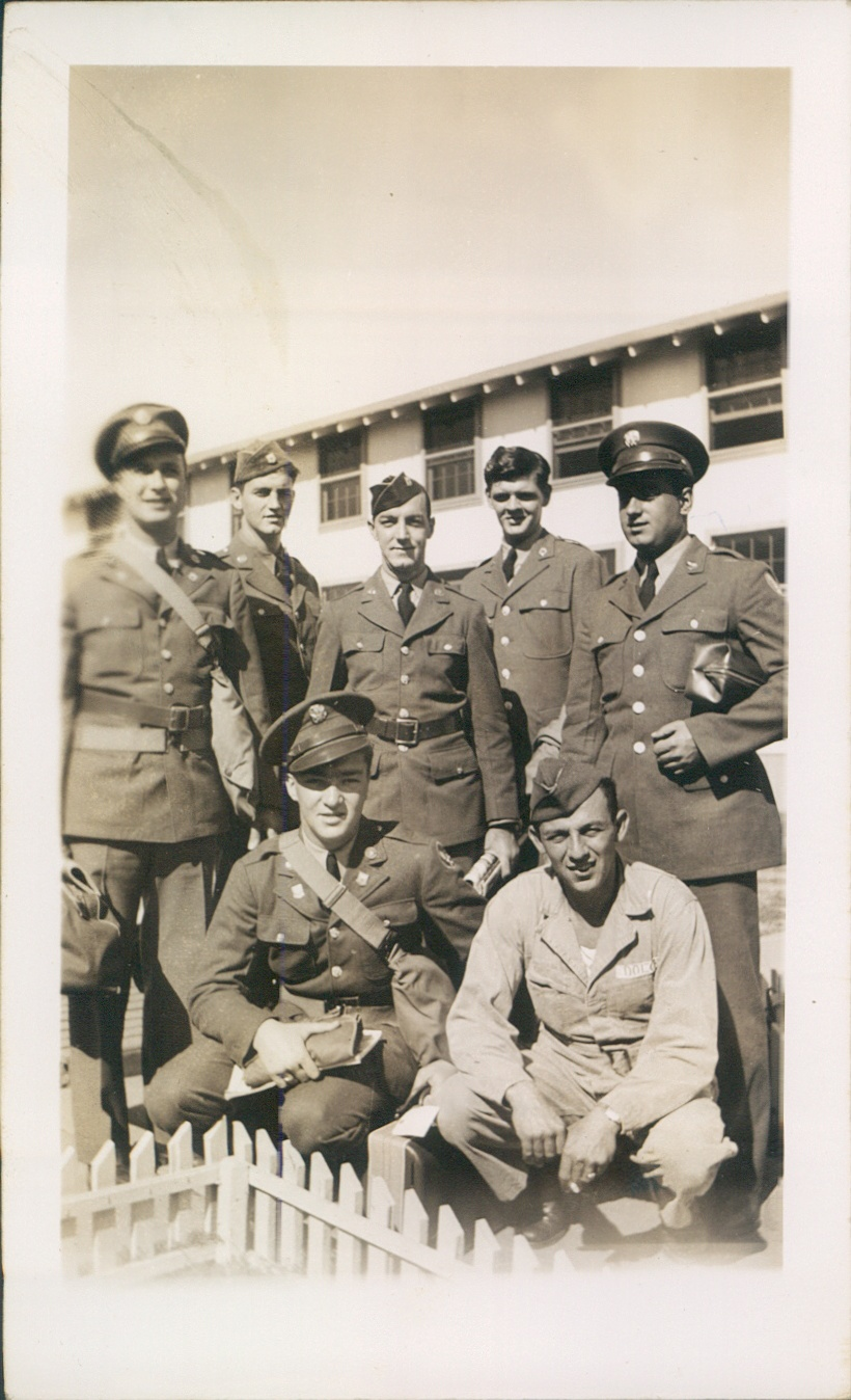 Oct 1942 Chanute Field, IL  Ernest Carbone [right, standing].