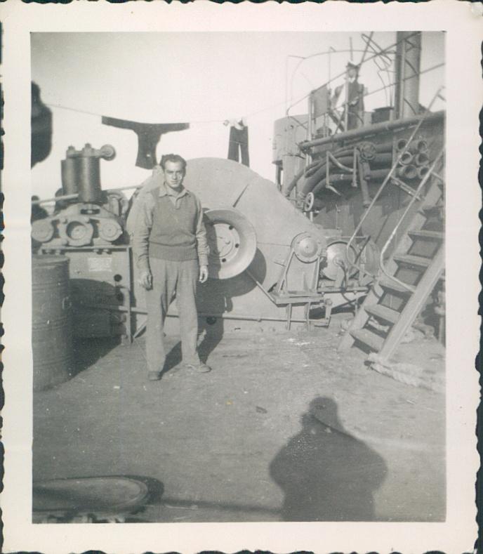 May 1943 Atlantic Ocean  Transit to Algeria & Tunisia