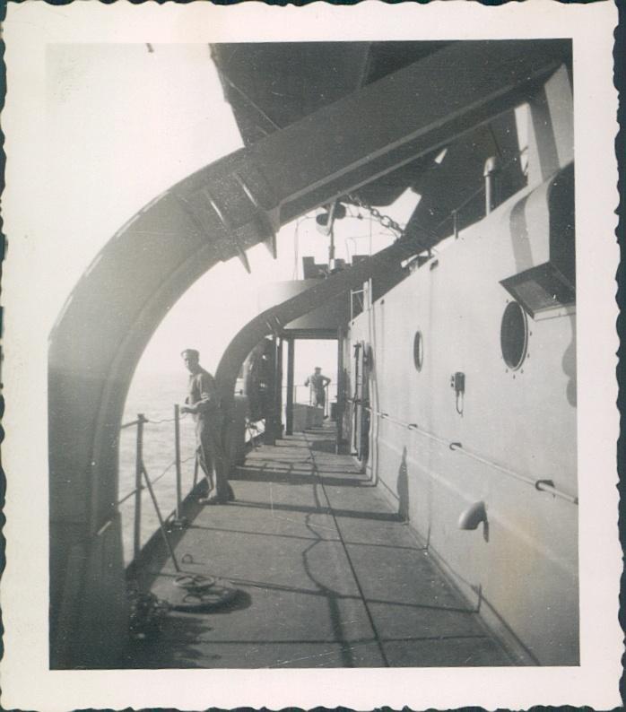 May 1943 Atlantic Ocean  Transit to Algeria & Tunisia.