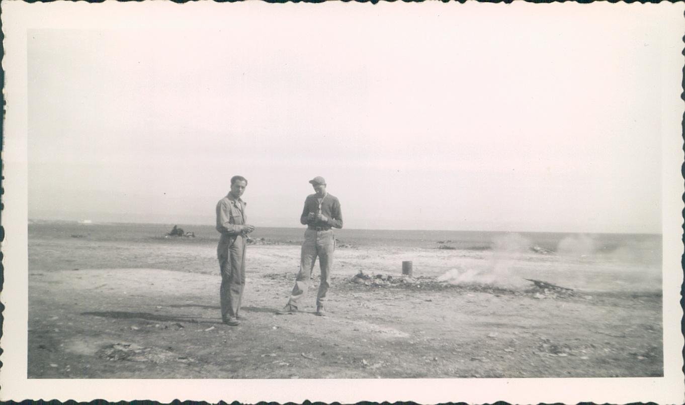 1943 North Africa  Carbone [left].