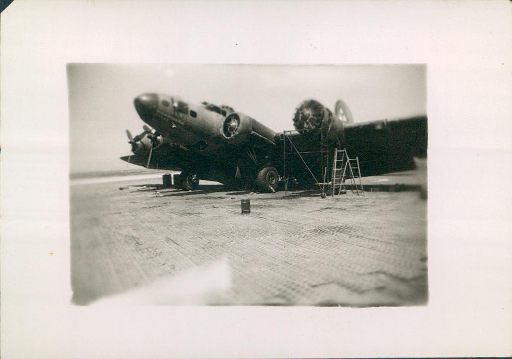 B-17 Bomber, 99th Army Air Base Wing.