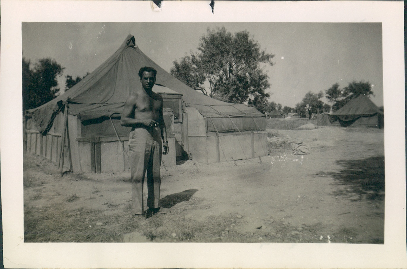 """August 3rd 1944 Italy  """"My country home with a few extensions."""" - E. Carbone."""