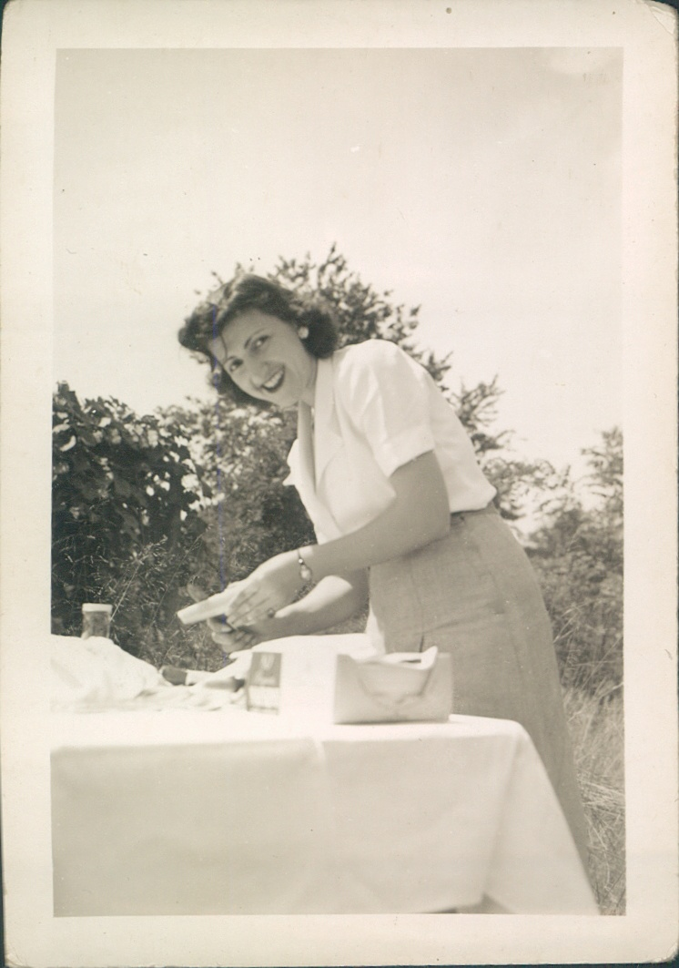 Late 1940s  Rosalie.