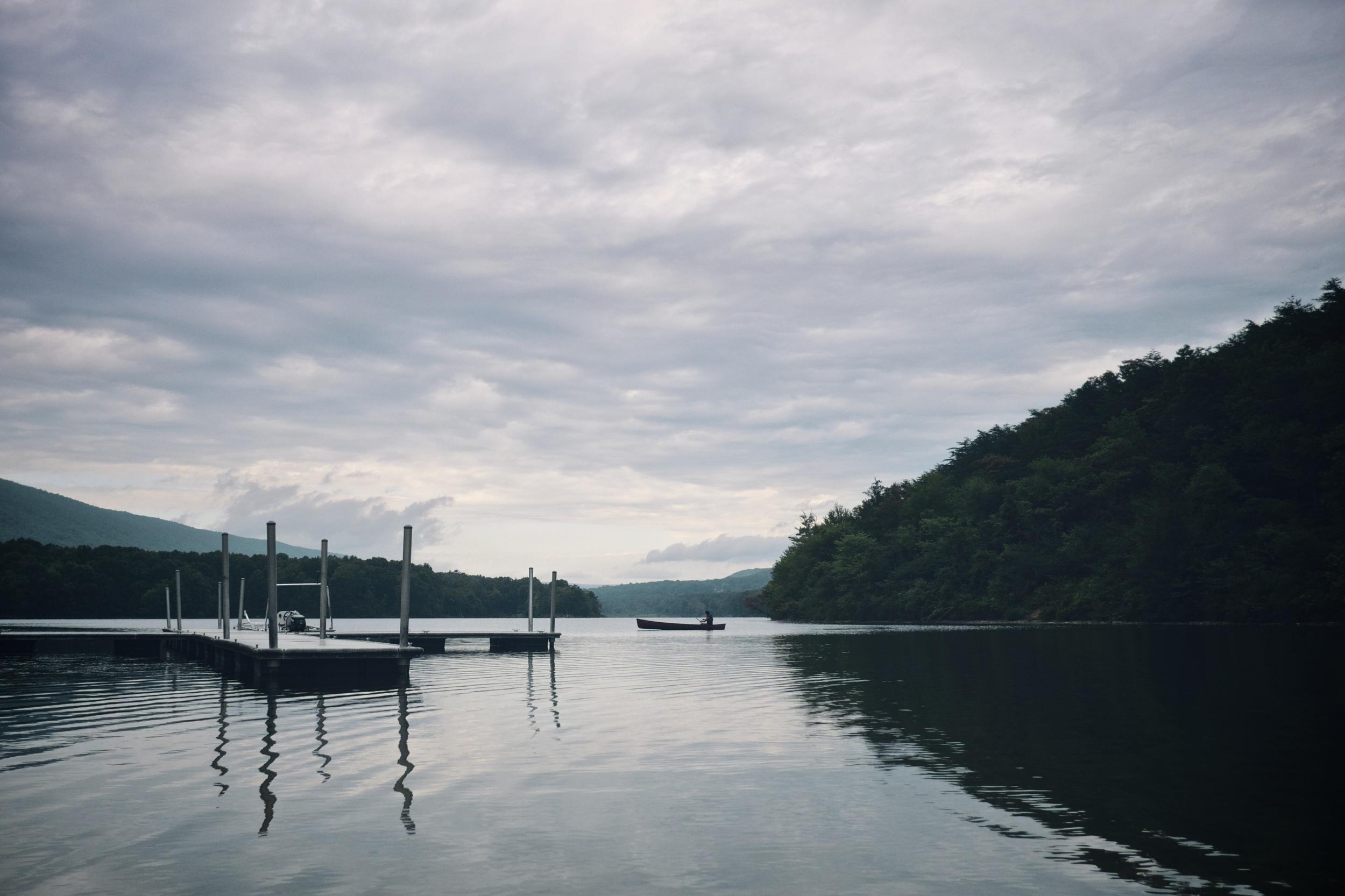 Rocky Gap Lake, Maryland.
