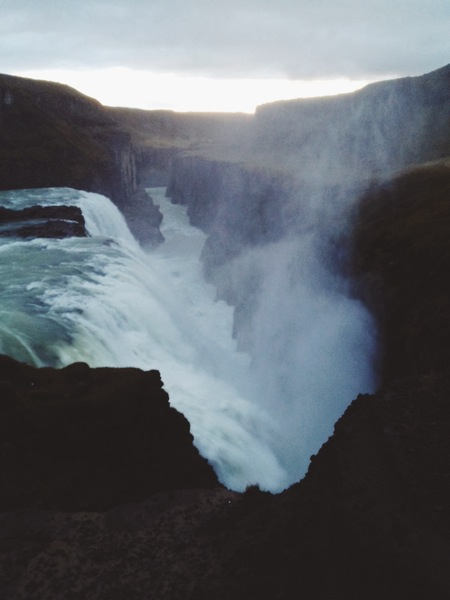 Gullfoss. [iPhone]