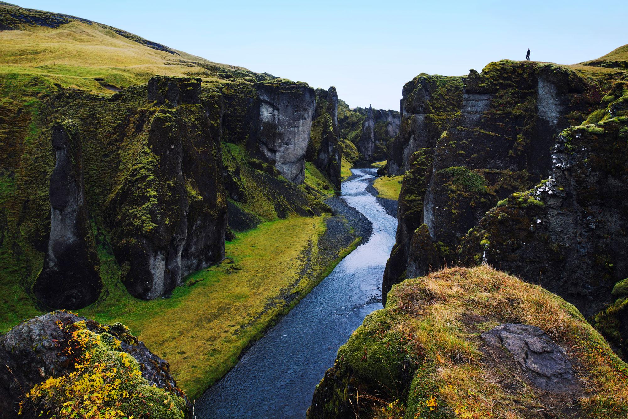 CanyonFjaðrárgljúfur  Nikon: f11 @ 24mm, 1/15, ISO400