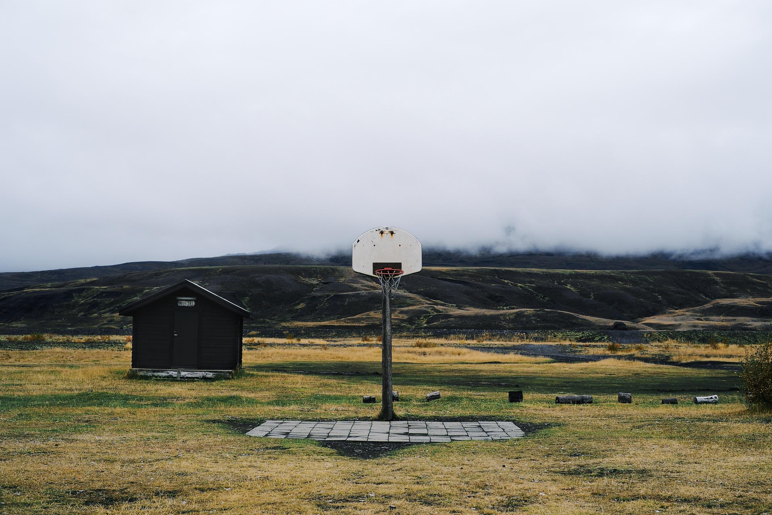 þórsmörk camp grounds, where they had delicious mushroom soup.
