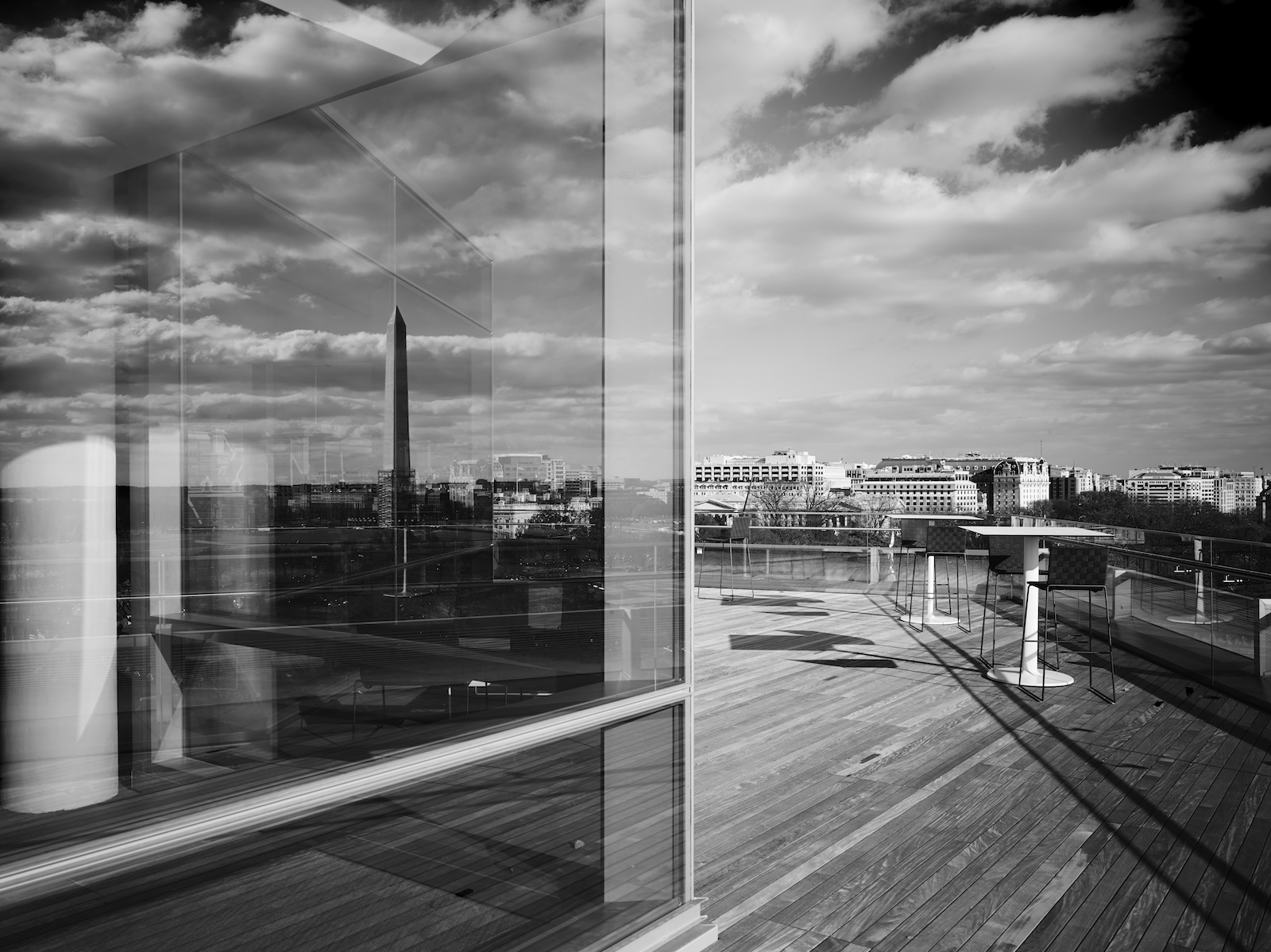 SmithGroupJJR's new DC Office rooftop.