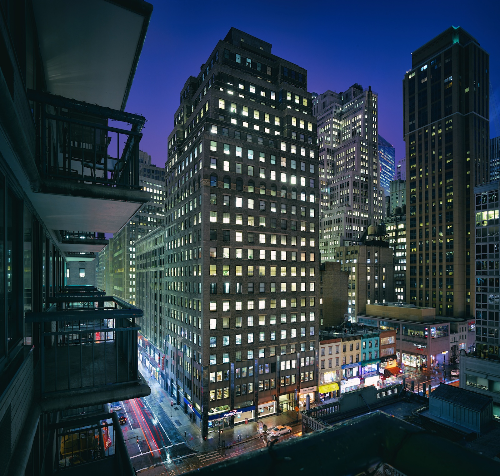 View from my old balcony in NY.