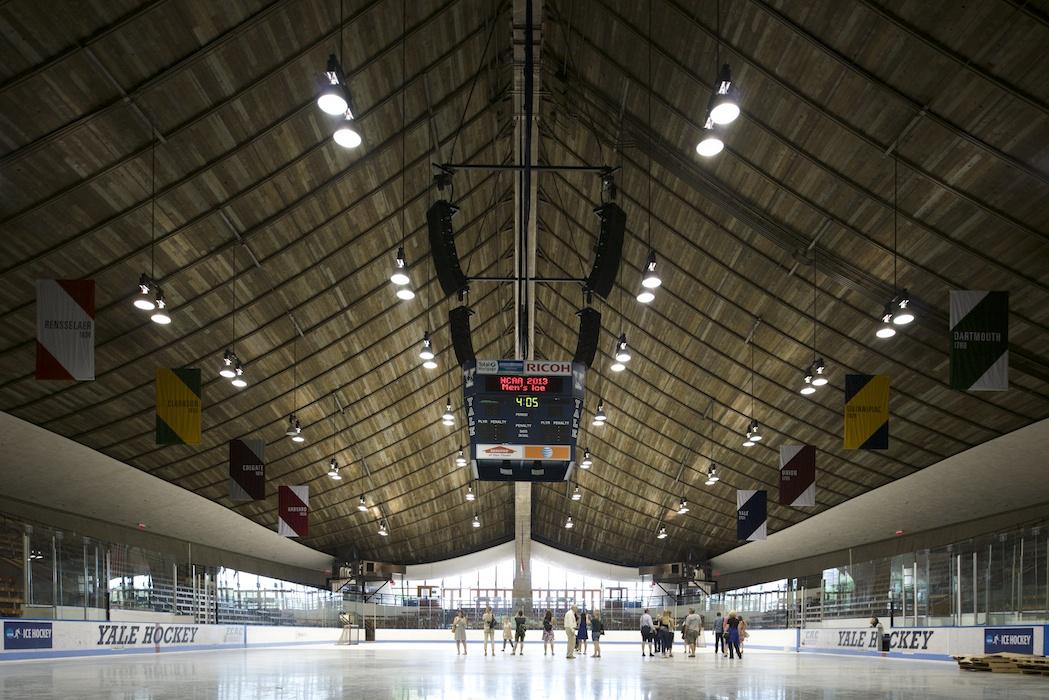 © Matthew Carbone — Saarinen's Ingalls Rink at Yale University —docomomo + modern league