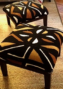 Ottomans - $400- Sold out but available through custom order