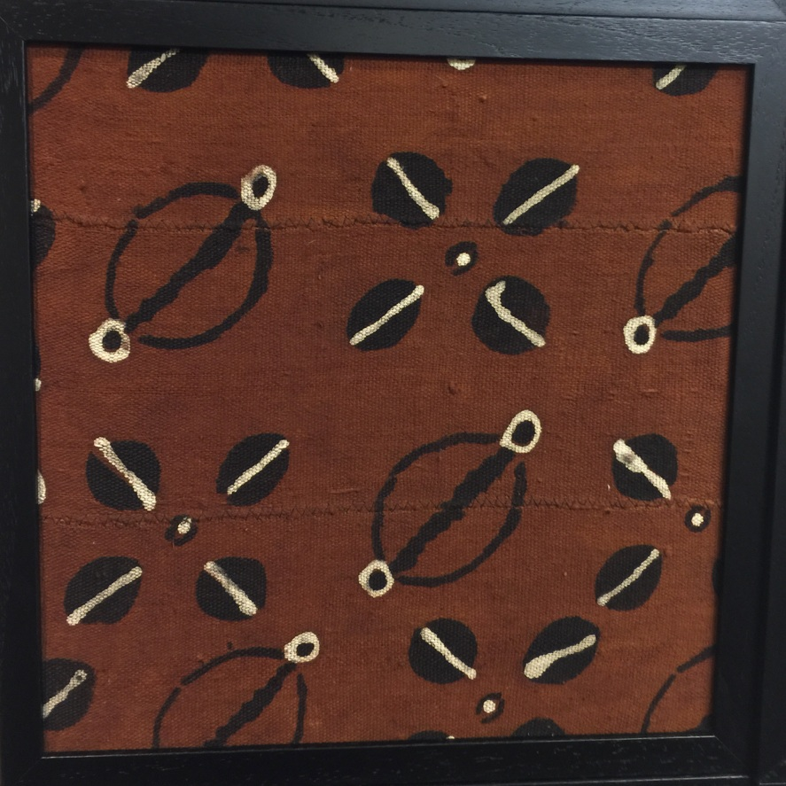 Product Name: Rust Cowry Shells Patch ($75)