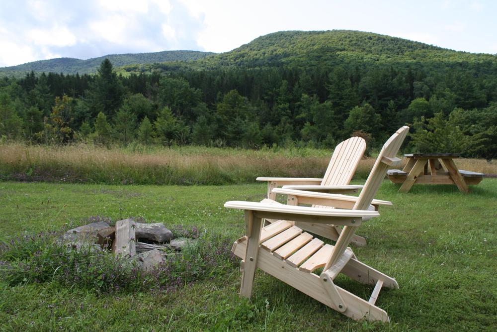 Adirondak chairs by Casey Scieszka