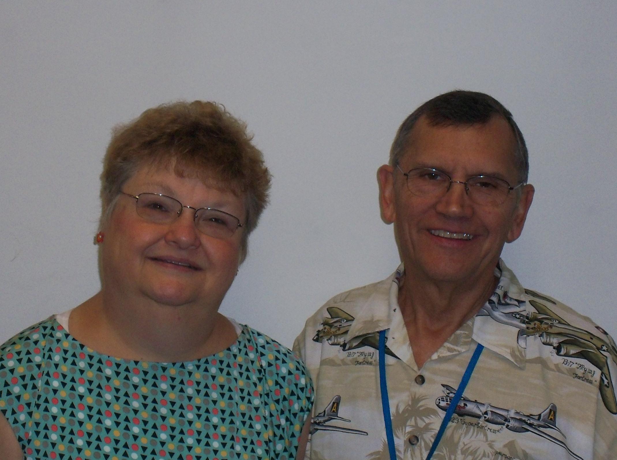 Tom and LIsa Bartholomew