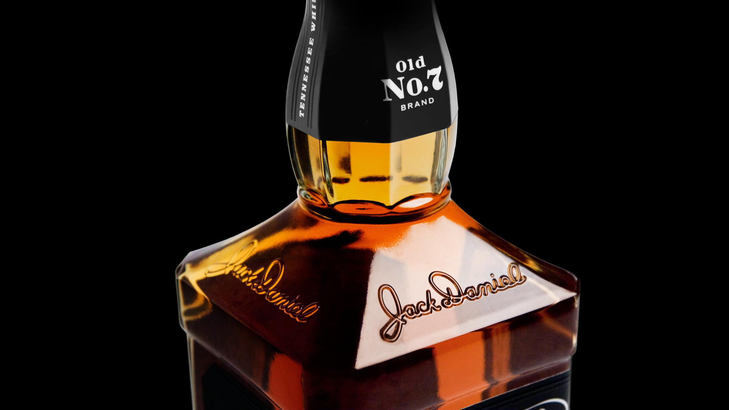 Jack Daniel's Bottle Structure