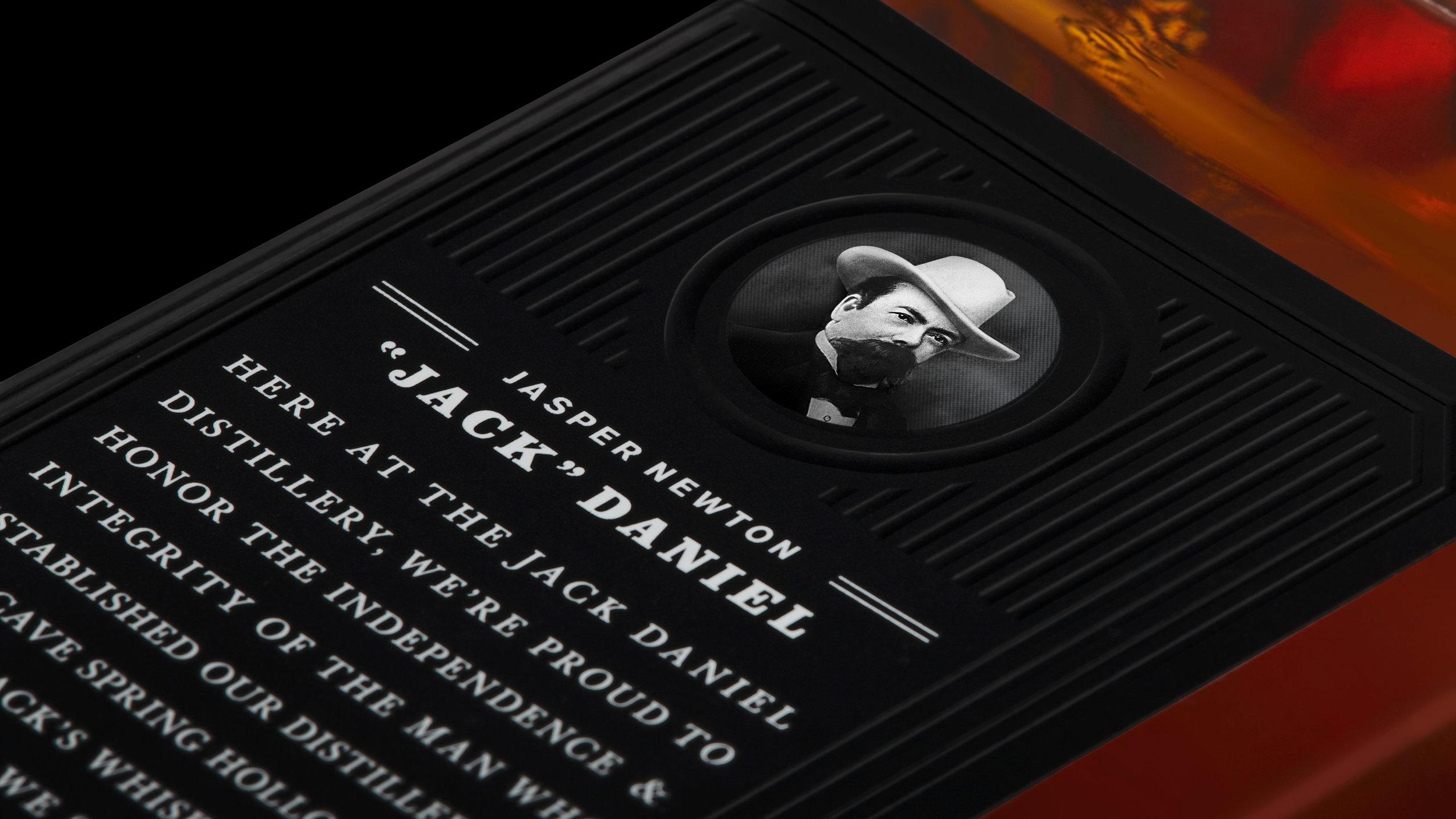 Jack Daniel's Label Detail