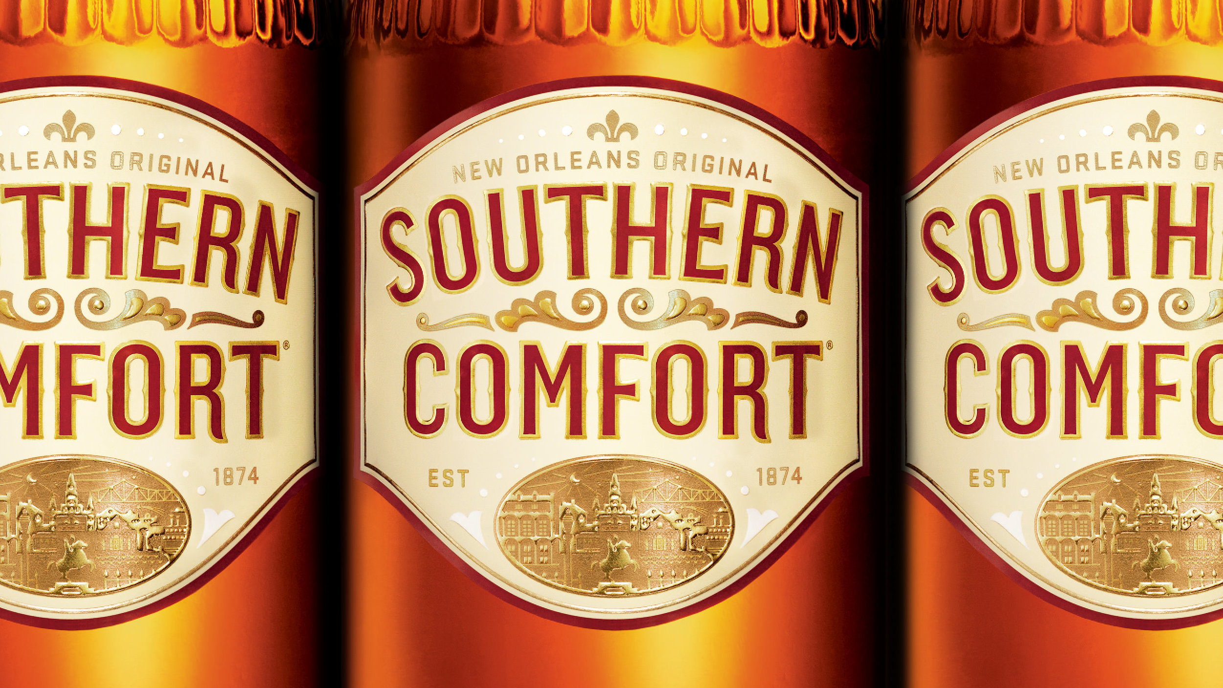 Southern Comfort Label Detail