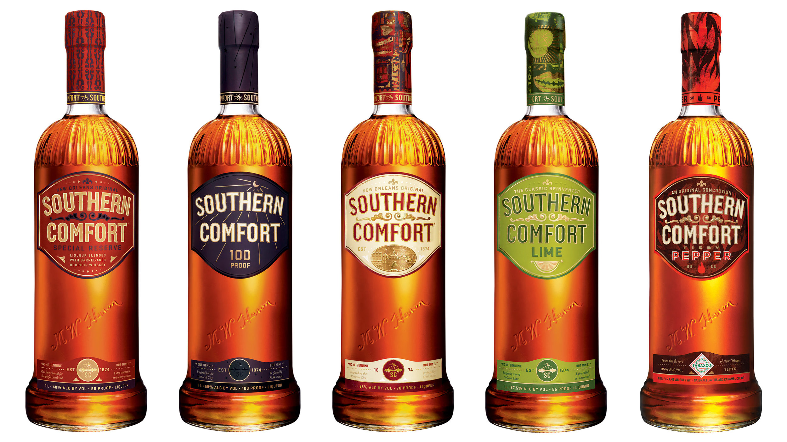 Southern Comfort Product Family